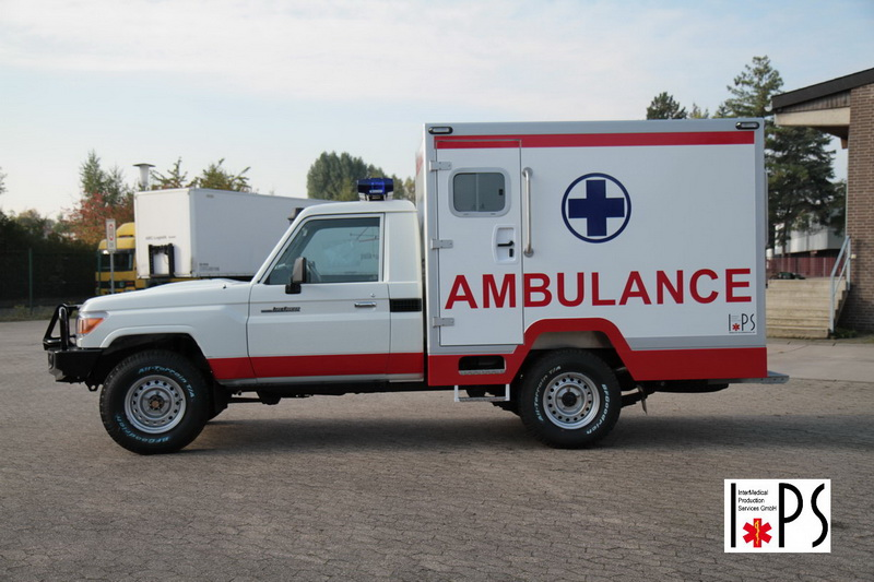 Toyota Land Cruiser, Hart Top with Box , off-road ambulance