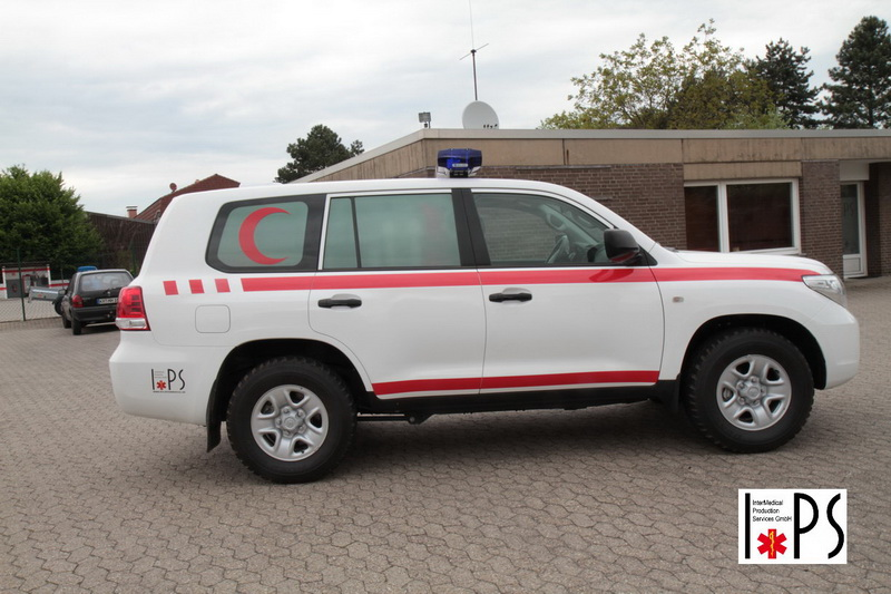 Toyota Land Cruiser, 200 Station Wagon, GX V8 Twin TD, off-road transport ambulance